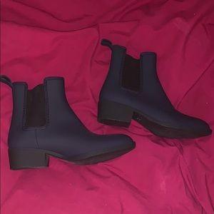 NEVER worn Jeffery Campbell Chelsea Rain Boots s 8